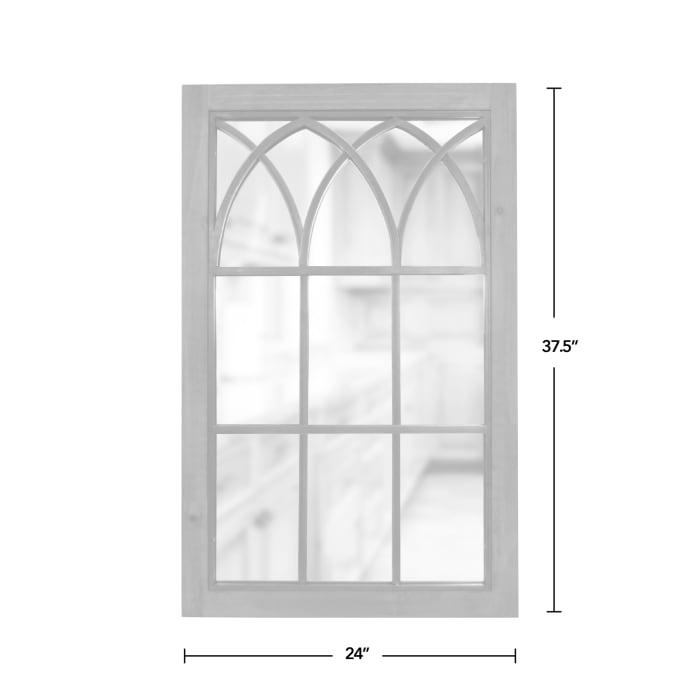 Grandview Arched Farmhouse Window Mirror