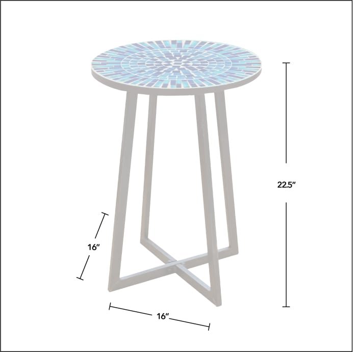 Mosaic Outdoor Table
