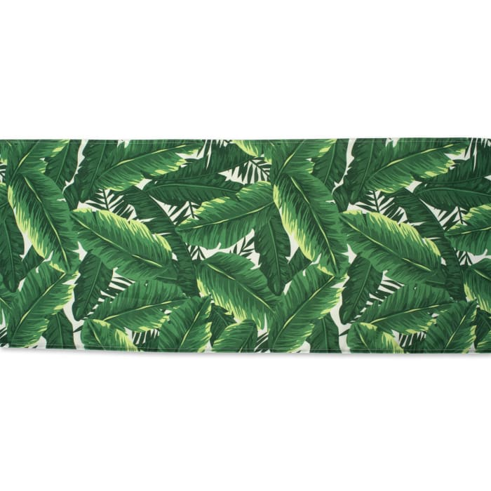 Banana Leaf Outdoor Table Runner 14x72