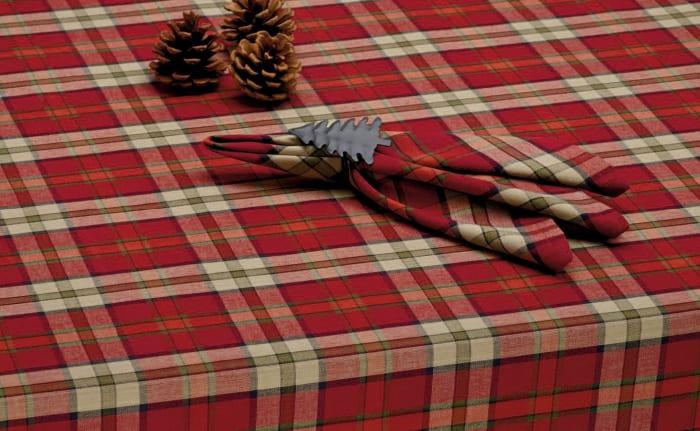 Campfire Plaid Tablecloth 60x84