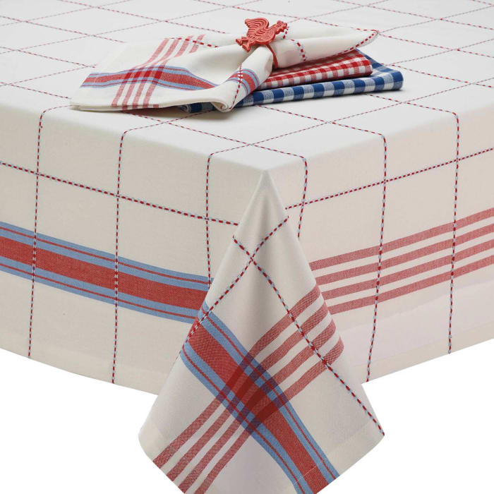 Coopeville Plaid Tablecloth 60x84