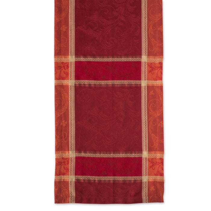Harvest Wheat Jacquard Table Runner 14x72