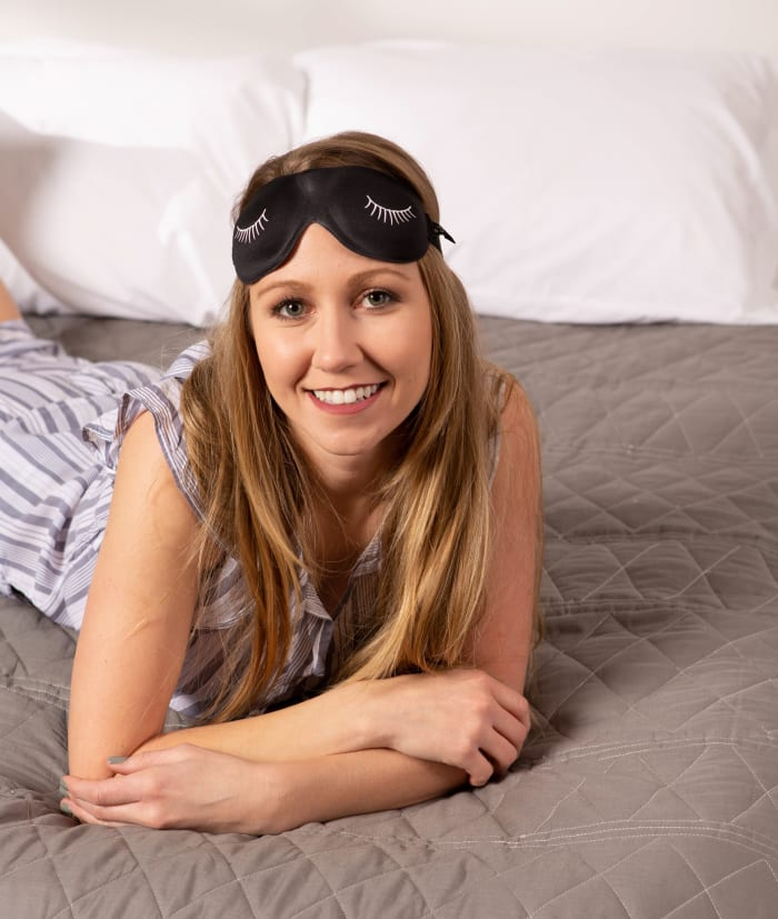 Bucky Ultralight Sleep Masks-Eyelash Black