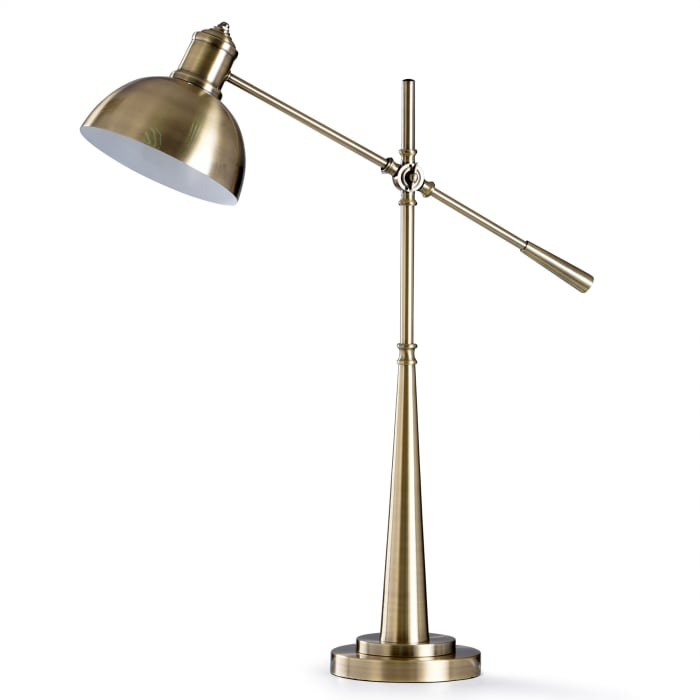 Antique Brass Metal Desk Lamp