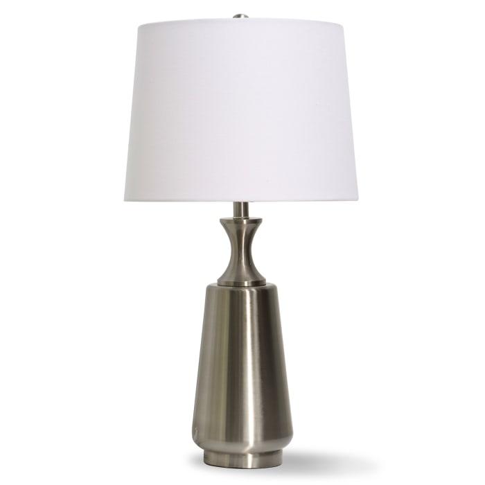 Brushed Brass Metal Table Lamp