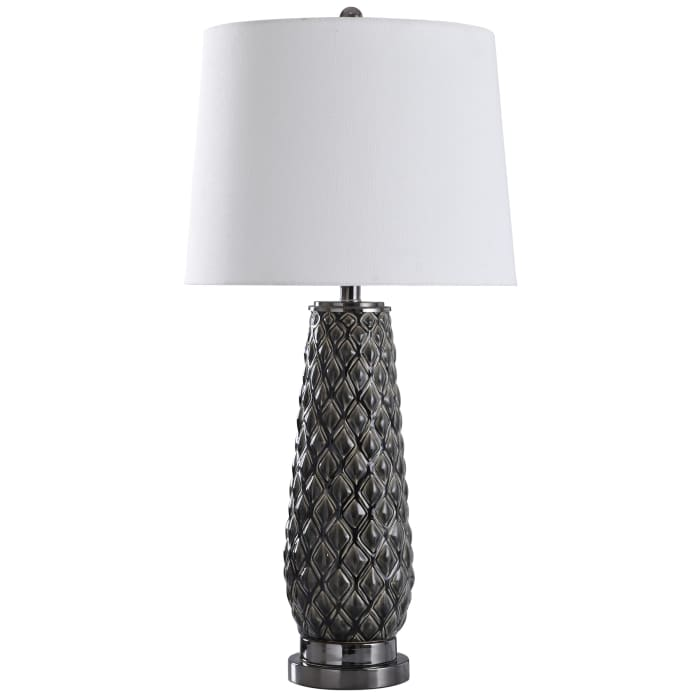 Hanson Dark Gray Table Lamp