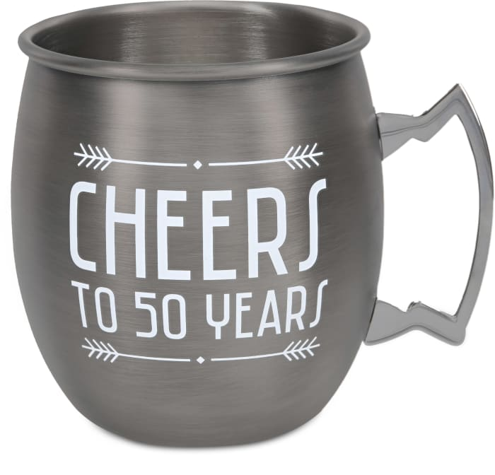 50 Years - Stainless Steel Moscow Mule