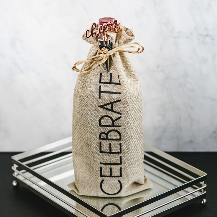 Celebrate - Wine Gift Bag Set
