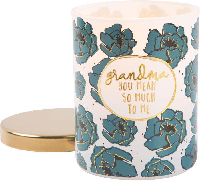 Grandma - 100% Soy Wax CandleScent: Fresh Cotton