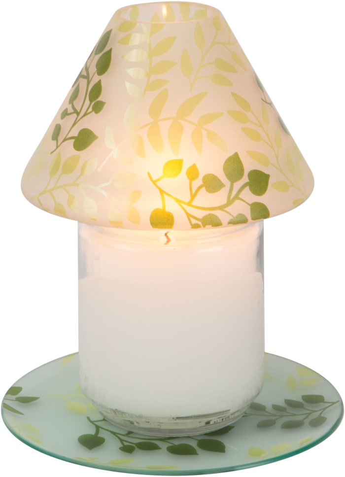 Green Fern - Large Candle Shade