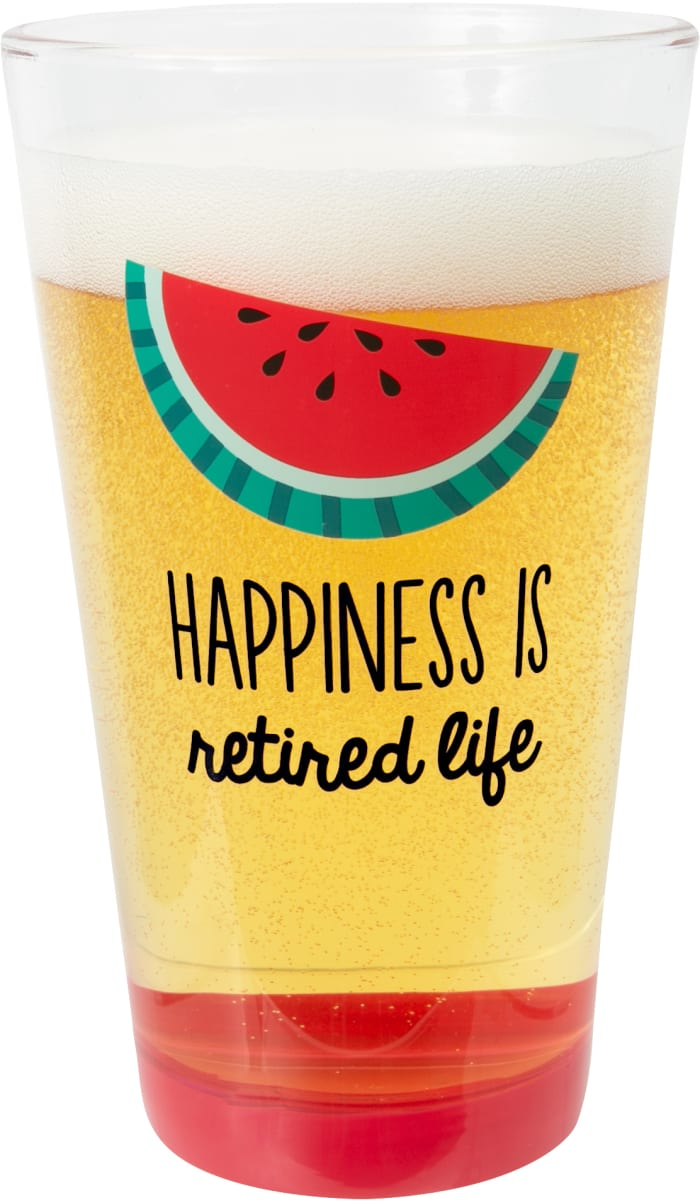 Happiness - Pint Glass Tumbler