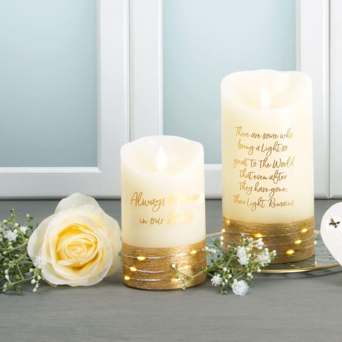 Light - Realistic Flame LED Lit Candle