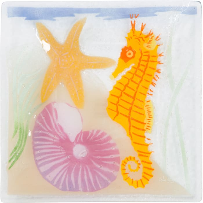 Under the Sea - Square Plate