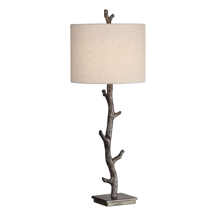 Tree Branch Rustic Lamp with Shade