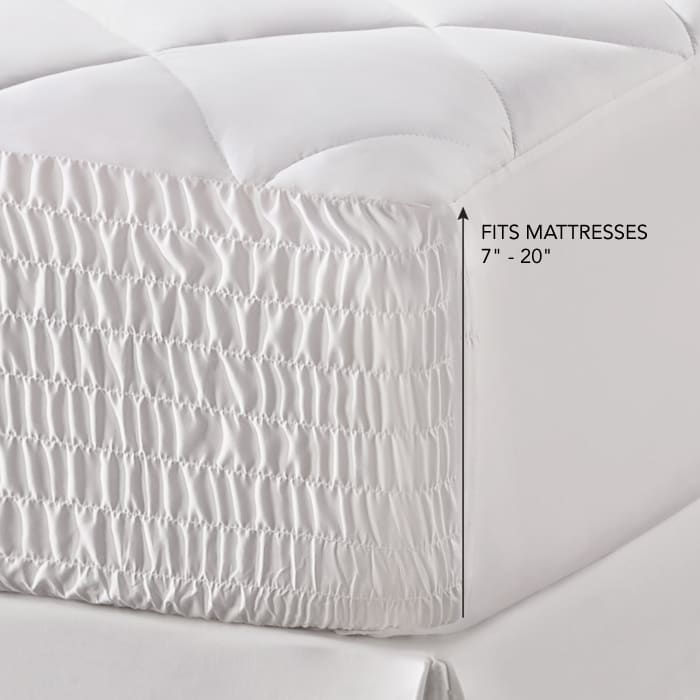 White Queen Mattress Pad