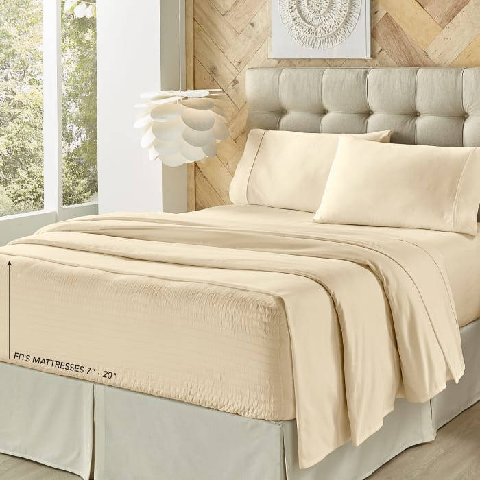 Ivory Queen 4Pc. Sheet Set