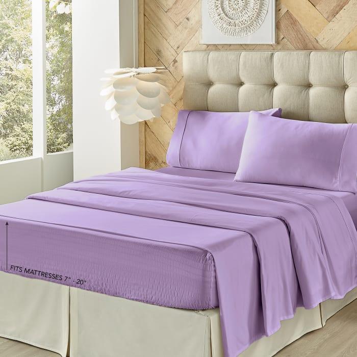 Lilac Twin 3Pc. Sheet Set