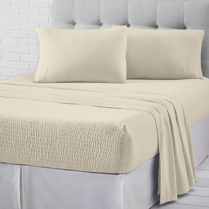 Ivory King 4Pc. Sheet Set