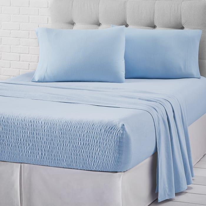 Light Blue Queen 4Pc. Sheet Set