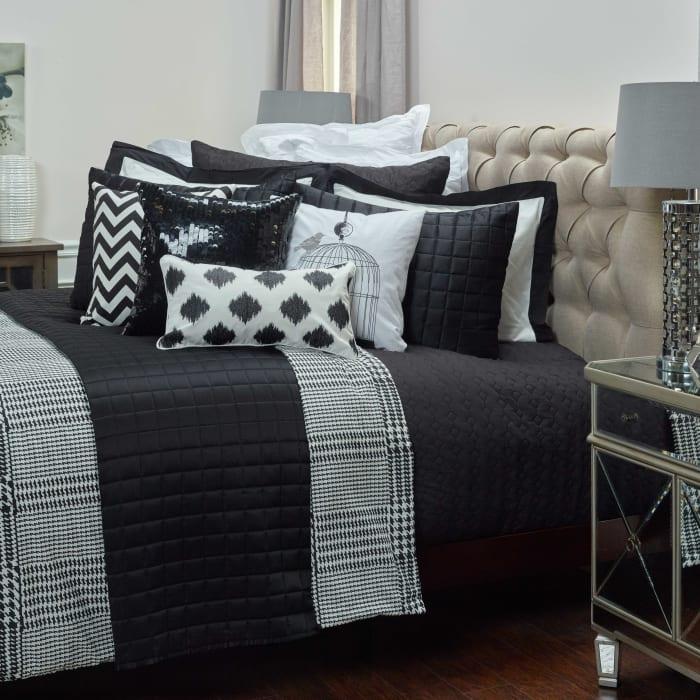 Black/White 100% Cotton Houndstooth 106