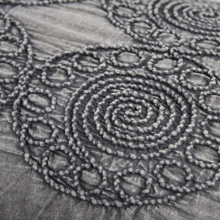 Corded Medallion Pillow Cover