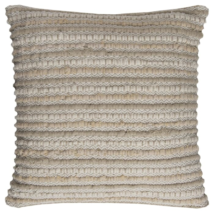 Stripe Cotton Beige/Natural Pillow Cover