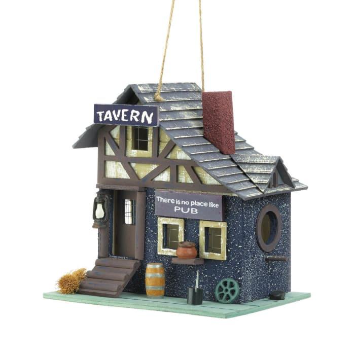 Rustic Tavern Birdhouse