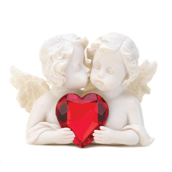 Two in Love Cherub Figurine