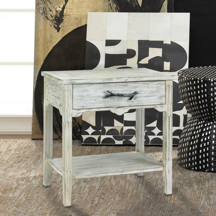 Pawley Wood End Table