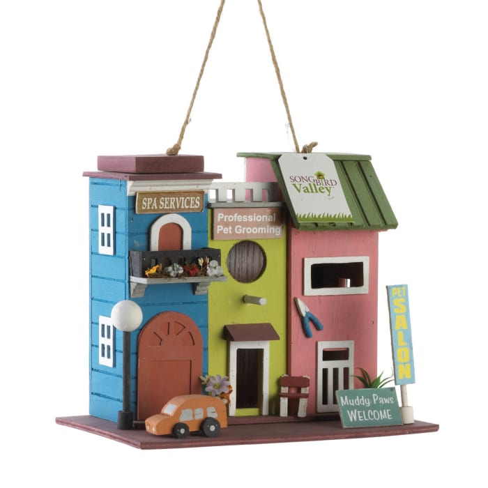Pet Salon Birdhouse