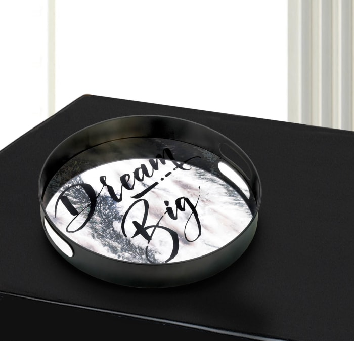 Positano Dream Big Large Mirror Tray