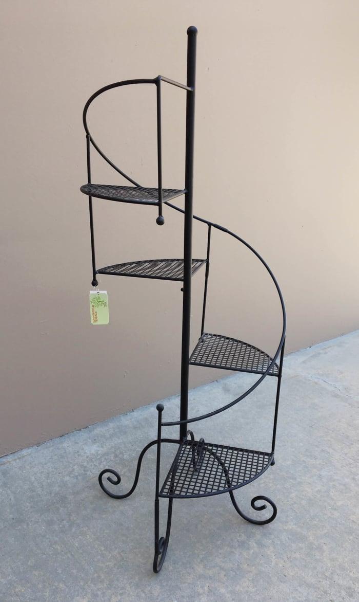 Spiral Showcase Plant Stand