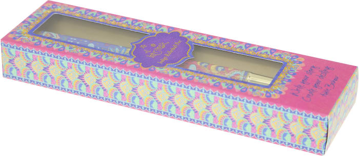 Believe - Boxed Gift Pen with Indigo (Purple) Ink