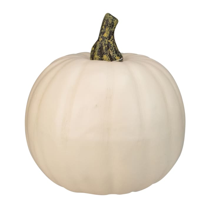 Cream White Pumpkin Fall Harvest Table Top Decoration