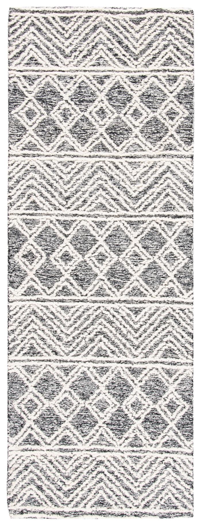 Essence Ivory Wool Rug 2'25