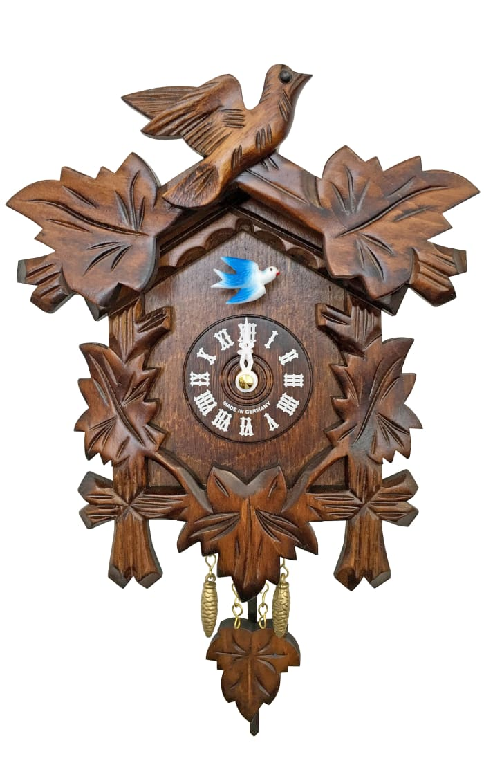 Engstler Battery-operated Clock - Mini Size with Music/Chimes