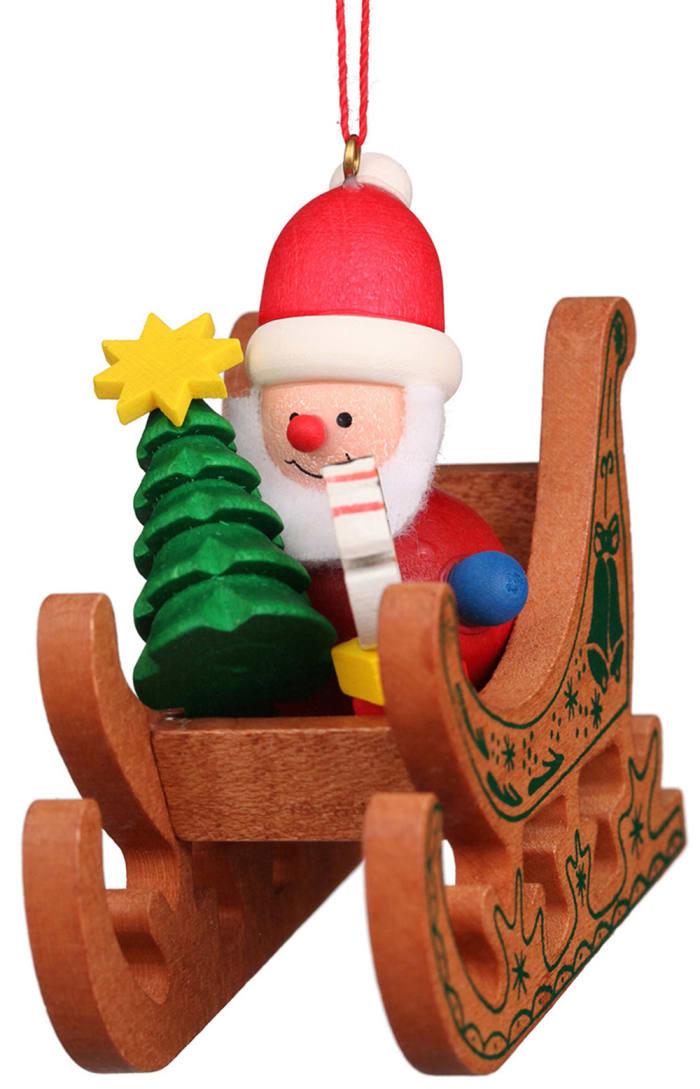 Christian Ulbricht Ornament - Santa Sled