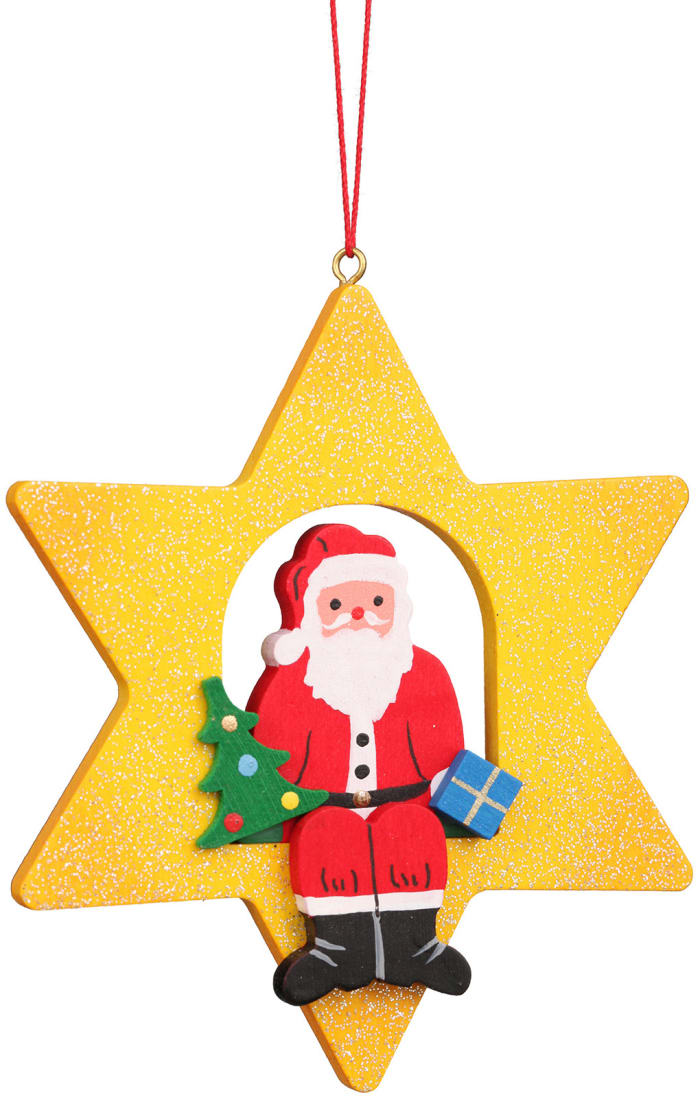 Christian Ulbricht Ornament - Santa Claus Star