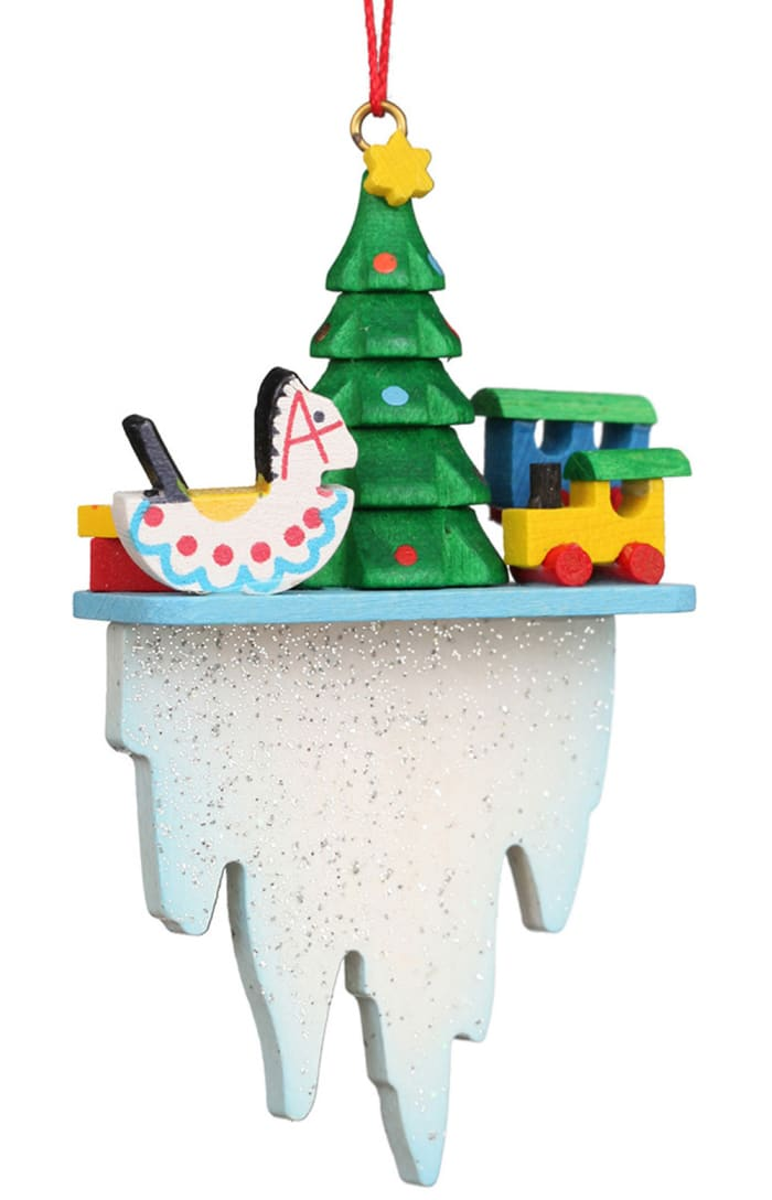 Christian Ulbricht Ornament - Tree Toys on Icicle