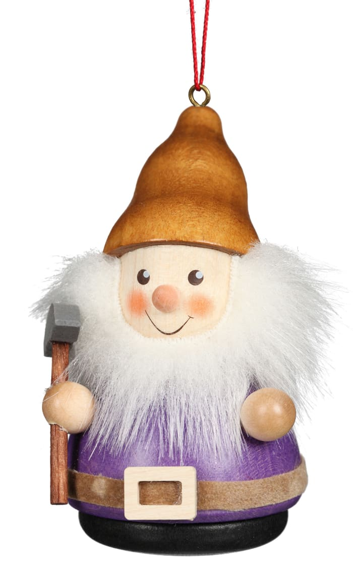 Christian Ulbircht Ornament - Gnome With Garden Hoe