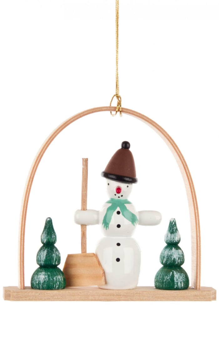 Ornament - Arch with Snowman