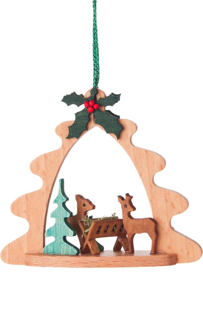 Ornaments - Deers feeding