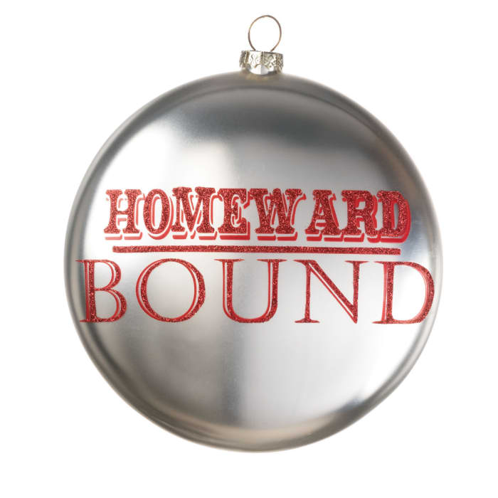 Homeward Bound Disc Ornament