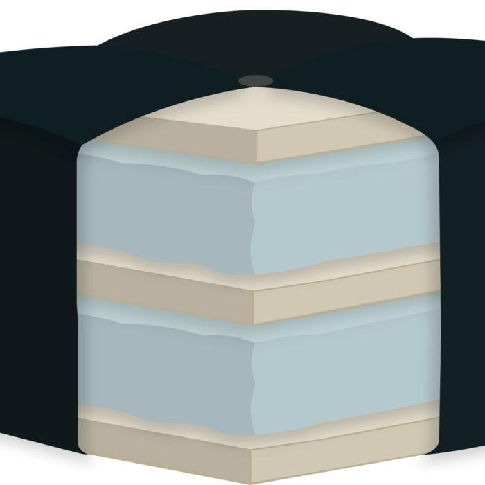Double Foam Full Futon Mattress