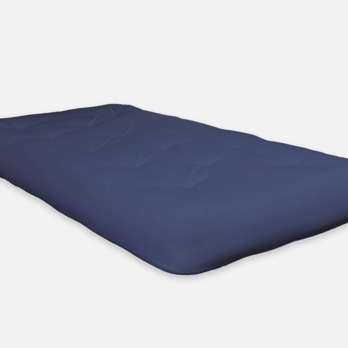 Navy Certified Foam Futon Queen Mattress