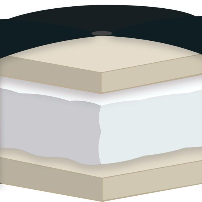 Natural Certified Foam Futon Queen Mattress