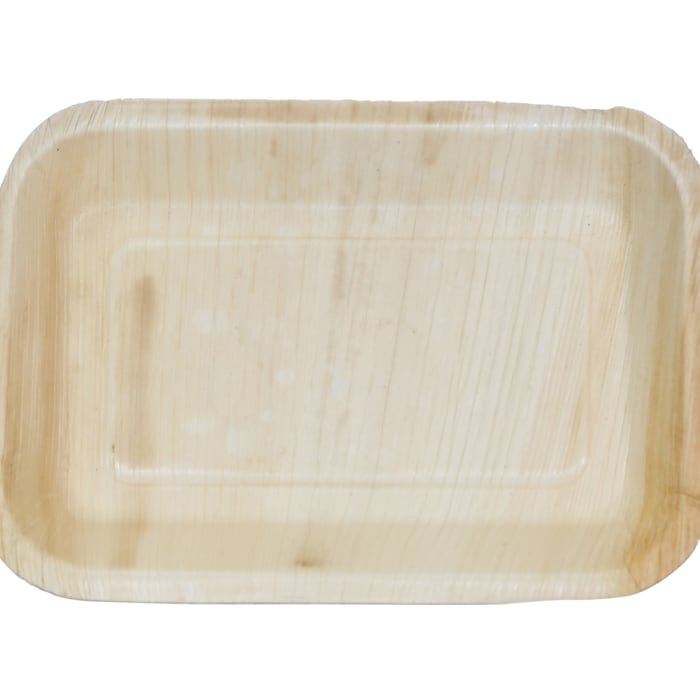 Indra Long Disposable Palm Leaf Tray Set of 200