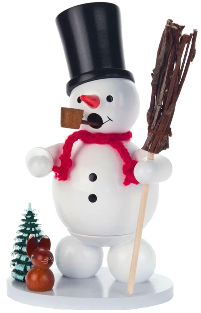 Incense Burner - Snowman