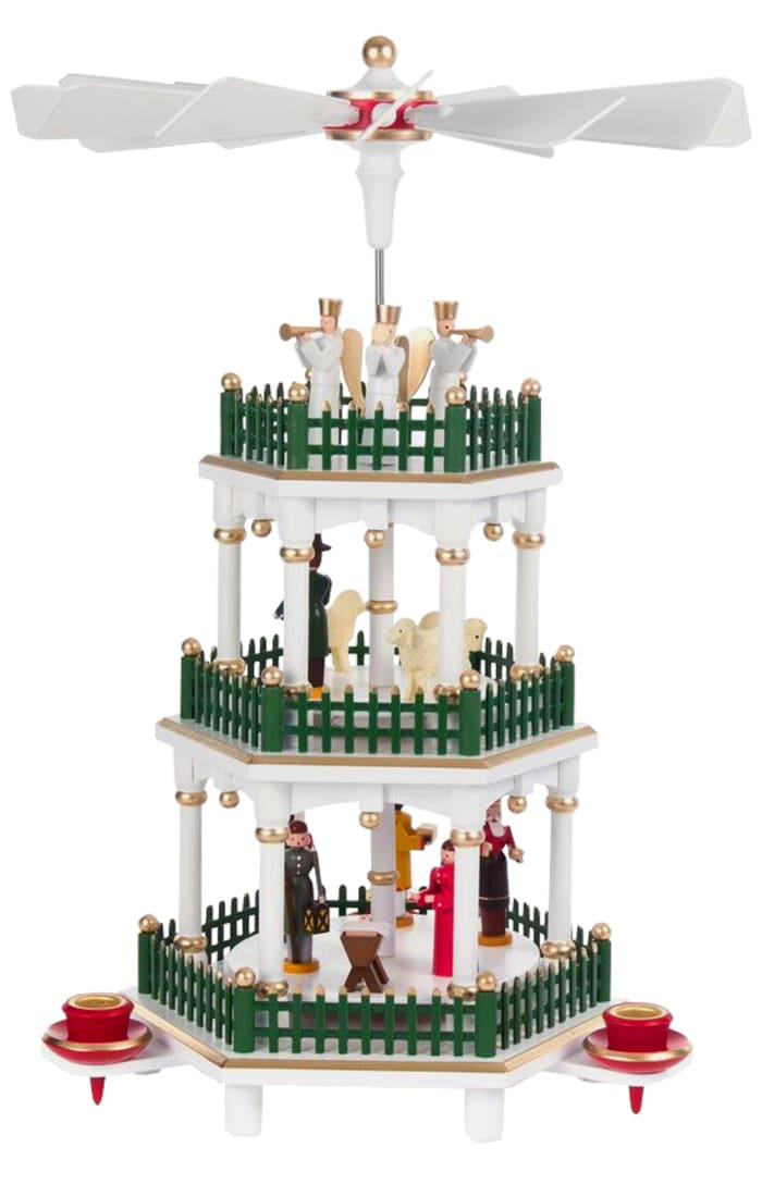 Pyramid - 3 tier Nativity