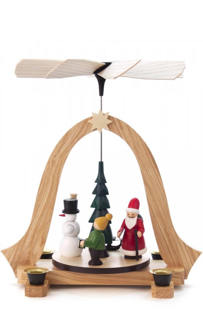 Pyramid - Santa Snowman